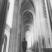 Photo taken at Grundtvigs Kirke by Yana B. on 6/10/2017