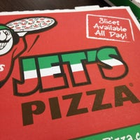 Photo taken at Jet's Pizza by Allen W. on 7/11/2014
