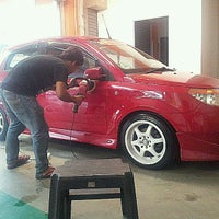 Photo taken at Matahari Car Wash by Mohamad A. on 10/13/2012