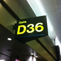 Photo taken at Gate D36 by AIICE S. on 3/31/2013