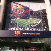 Photo taken at Museu Futbol Club Barcelona by Mireia T. on 6/11/2013
