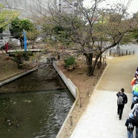 Photo taken at 紅葉橋 by Kazushige A. on 11/3/2012