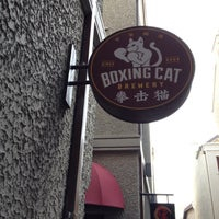 Photo taken at Boxing Cat Brewery by Ash on 11/11/2012