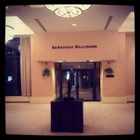 Photo taken at The Saratoga Hilton by Sour B. on 3/12/2013