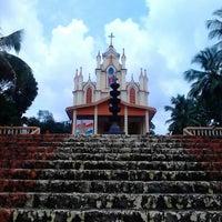 Photo taken at chemmalamattom church by Vishnu N. on 8/17/2013