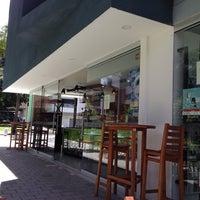 Photo taken at Café Restaurante CasaTeatro El Poblado by Felipe J. on 10/6/2013