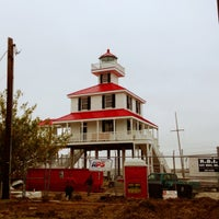 Photo taken at New Canal Lighthouse by Morgan on 11/27/2012