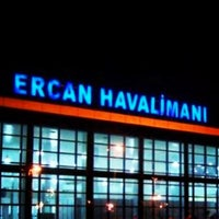 Photo taken at Ercan Airport (ECN) by özlem on 3/27/2013