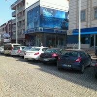 Photo taken at Halkbank by Hasan D. on 2/6/2013