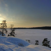 Photo taken at Meri-Kivenlahti by Kaarina M. on 1/10/2016