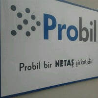 Photo taken at Probil by Baris S. on 11/14/2012