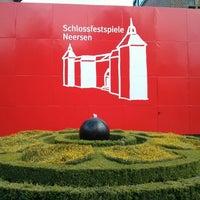 Photo taken at Schloss Neersen by Ingo R. on 8/17/2013
