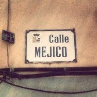 Photo taken at Calle Mejico by Deniz B. on 7/7/2013