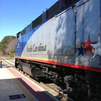 Photo taken at Amtrak - Cary Station (CYN) by Richard B. on 2/9/2013