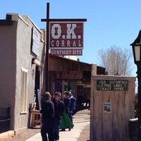 Foto tirada no(a) O.K. Corral por Richard B. em 2/25/2013