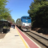 Photo taken at Amtrak - Cary Station (CYN) by Richard B. on 4/14/2013