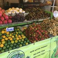 Photo taken at Kathu Fresh Market by Evgeniya on 7/13/2016