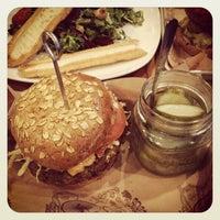 Photo taken at Bareburger by April H. on 3/19/2013