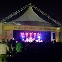 Photo taken at Pompano Beach Amphitheatre by melissa p. on 2/13/2016