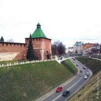 Снимок сделан в Нижегородский кремль пользователем Alexey G. 4/30/2013