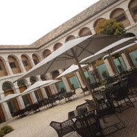 Photo taken at Parador de Alcalá de Henares by Pilar S. on 11/24/2012
