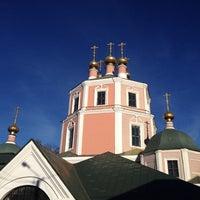 Photo taken at Церковь Казанской Божьей Матери by Irina P. on 10/13/2013
