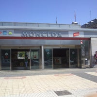 Photo taken at Metro Moncloa by Felipe V. on 6/29/2013