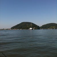 Photo taken at Ferry Boat Caiobá - Guaratuba by Juca B. on 4/20/2013