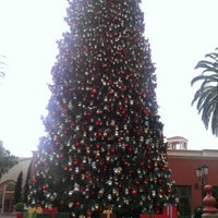Photo taken at Fashion Island Gigantic Christmas Tree by Thomas L. on 12/3/2012