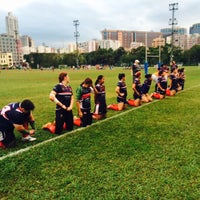Photo taken at Tai Hang Tung Recreation Ground by Joanne C. on 11/8/2014