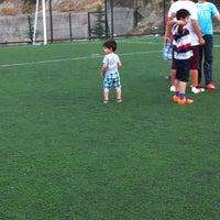 Photo taken at Meltem Sokak Halı Saha by Tuğba D. on 8/28/2014
