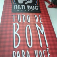 Photo taken at Old Dog Dogueria by Aline L. on 9/10/2014