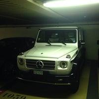 Photo taken at Parking du Casino by OSKAR S. on 8/16/2014