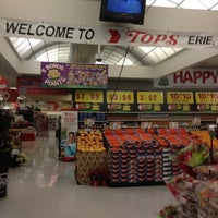 Photo taken at Tops Market by Carolyn D. on 12/18/2012