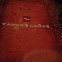 Photo taken at Tapas y Cañas Zona 15 by Patty S. on 10/24/2012