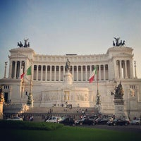Photo taken at Altare della Patria by Alejandro Q. on 10/27/2012