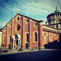 Photo taken at Santa Maria delle Grazie by Alejandro Q. on 10/20/2012