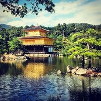Photo taken at Kinkaku-ji Temple by Alejandro Q. on 9/29/2013