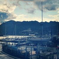 Photo taken at Porto di Salerno by Alejandro Q. on 10/31/2012