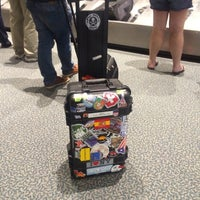 Photo taken at Norfolk International Airport Baggage Claim by Glenn F. on 6/30/2014