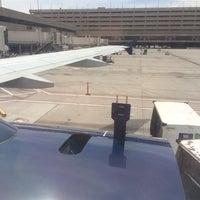 Photo taken at Gate B27 by Glenn F. on 4/22/2014