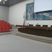 Photo taken at Salón de Honor - Universidad de Santiago de Chile by Sebastian C. on 10/9/2013