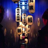 Photo taken at Blue Ribbon Sushi Izakaya by doug j. on 12/29/2012