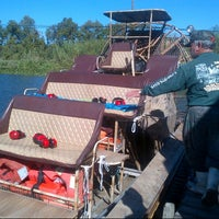 Photo taken at Airboat Tours by Arthur by brendan c. on 10/7/2013