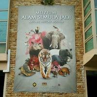 Photo taken at Muzium Alam Semulajadi by King Y. on 9/20/2016