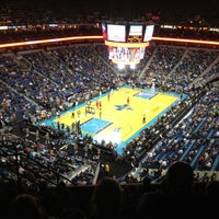 Photo taken at Smoothie King Center by Christopher S. on 1/10/2013