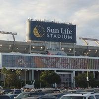 Photo taken at Hard Rock Stadium by Bill O. on 1/7/2013
