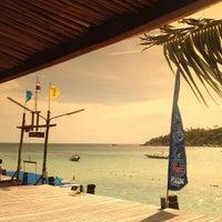 Photo taken at Haad Tien Beach Resort by Gobgap S. on 6/21/2013