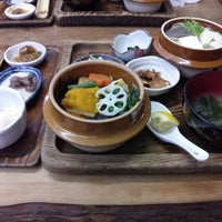 Photo taken at 奥多摩釜めし by Yasuaki S. on 7/13/2014