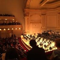 Снимок сделан в Stern Auditorium / Perelman Stage at Carnegie Hall пользователем Joe H. 1/19/2018